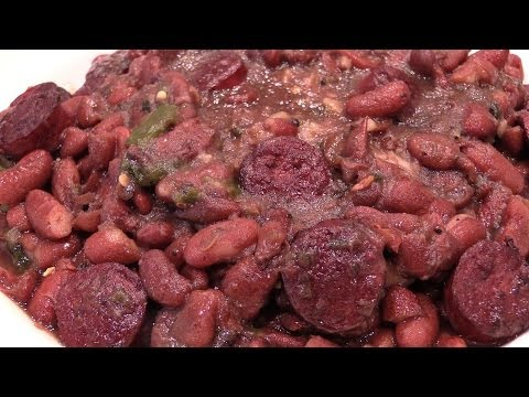 Cajun Red Beans, Rice, & Sausage