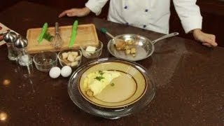 How To Make A Potato Omelet : Fancy Eggs