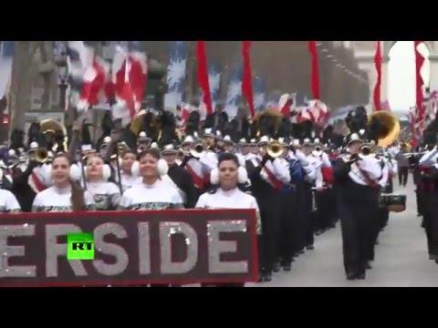 Nouvel An 2016 : une grande Parade haute en couleurs sur les Champs-Elysées