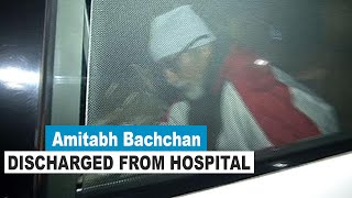 Amitabh Bachchan discharged from Mumbai hospital