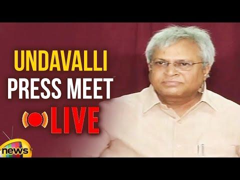Undavalli Press Meet LIVE | Undavalli Aruna Kumar Joins Janasena? | 2019 Elections | Mango News