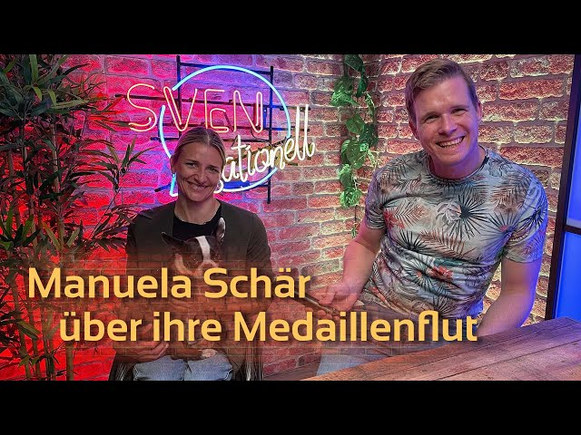 Manuela Schär, Paralympics-Siegerin über ihre Medaillenflut   SVENsationell #15