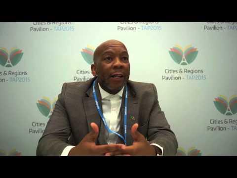 Kgosientso Ramokgopa, Executive Mayor of Tshwane, South Africa