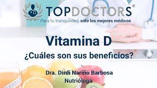 Vitamina D ¿Cuáles son sus beneficios?