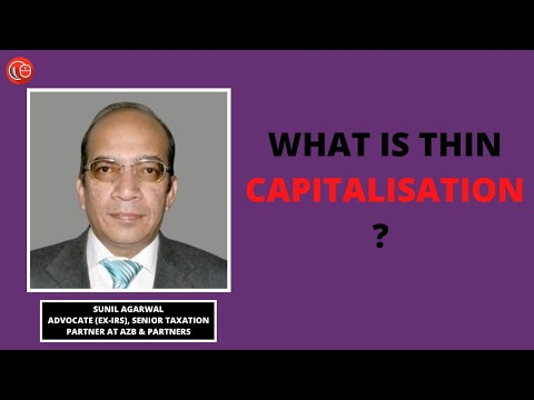 What is thin capitalisation?