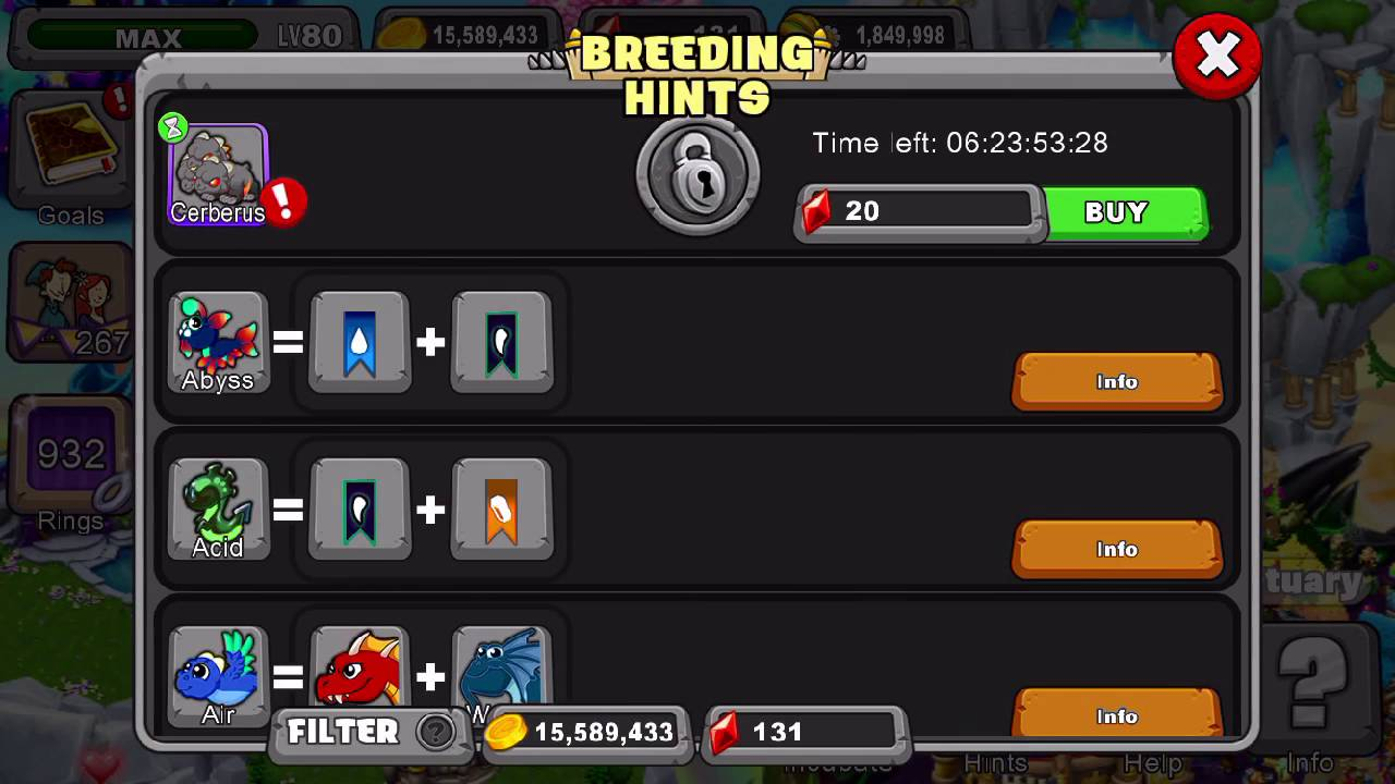 how to breed hydra dragonvale