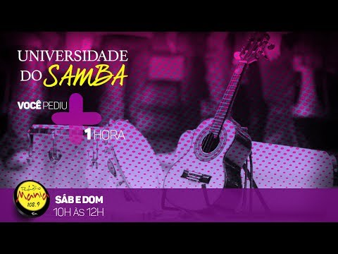🔴 Rádio Mania - PodCast Universidade do Samba 24/06/17