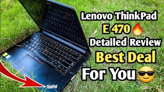 Lenovo ThinkPad E470 Full Review Core i7 7th Generation NVIDIA GeForce 940MX