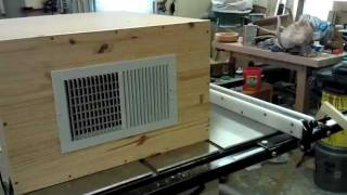 Homemade Shop Air Filtration System Part 3