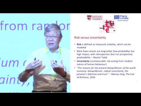Conference: Disrupted balance – Society at risk - Andrew Sheng