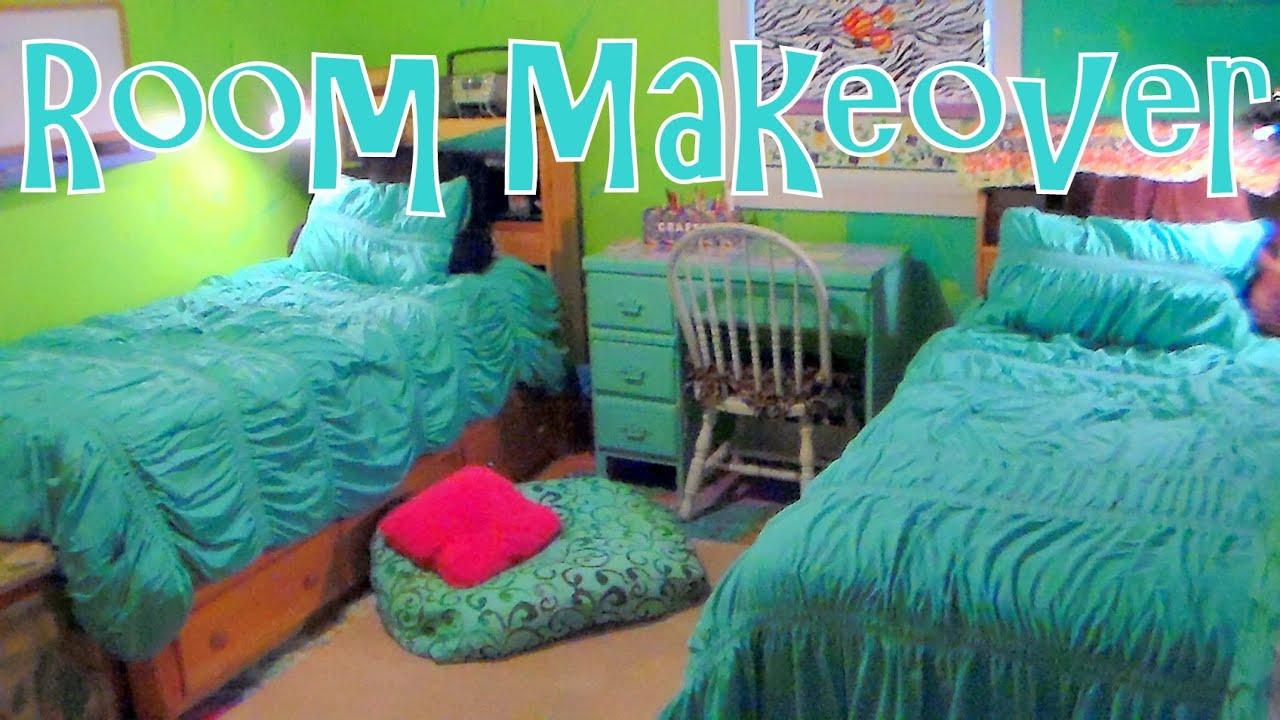 Twin Girls Bedroom Makeover On A Budget Before Amp After