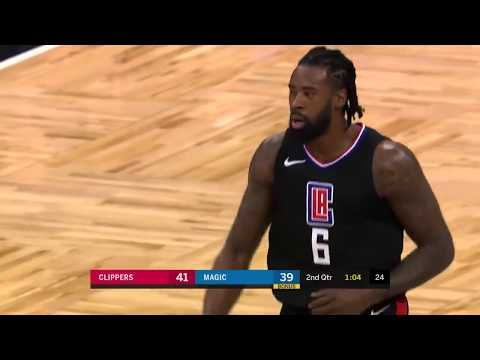 DeAndre Jordan (16 points) Highlights vs Orlando Magic 12-13-17