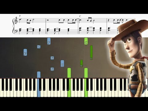Toy Story - You've Got A Friend In Me - Piano Tutorial + SHEETS