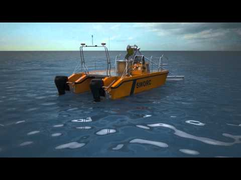 SWORC Shallow Water Oil Recovery Catamaran
