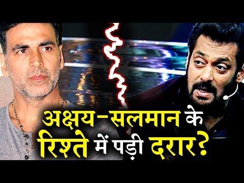 All is Not Well between Akshay Kumar and Salman khan?