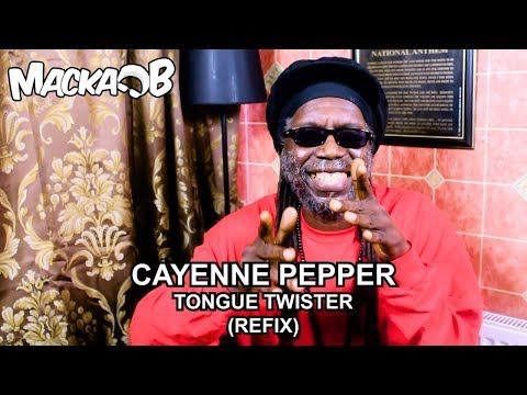 Macka B's Medical Monday 'CAYENNE PEPPER TONGUE TWISTER'  (REFIX)