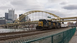 Interesting Westbounds on the CSX Pittsburgh Line