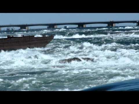Niagara River near Toronto Power Generating Station