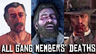 Red Dead Redemption 2 & 1 - All Gang Members' Deaths (from Davey to Abigail) [PC, 4K]