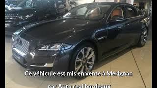 Jaguar xj occasion visible à Merignac présentée par Auto real bordeaux