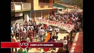 Conflicto humano en El Mango, Cauca