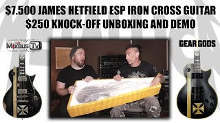 $7500 James Hetfield Guitar $250 DHGate Knock-Off - Unboxing & Demo with GearGods