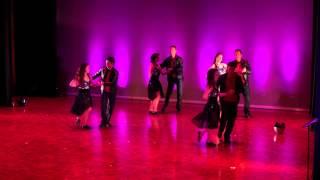 JRDA Show 2012 Zouk Performance Intermediate Team