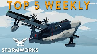 Stormworks Weekly Top 5 Worksh…