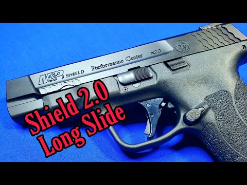 Smith and Wesson Shield 2.0 4 inch: First impressions.