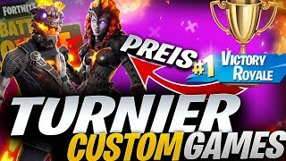 🔴 CUSTOM GAMES SOLO TURNIER💥 LAVA LEGENDS PACK! | Fortnite Live English