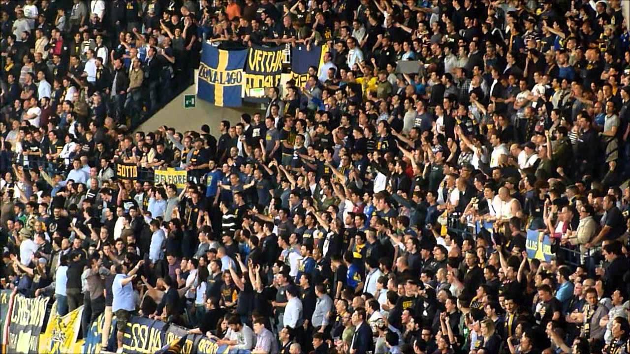 Hellas Verona - Pro Vercelli 3-1: Tifo Butei in Curva Sud ...