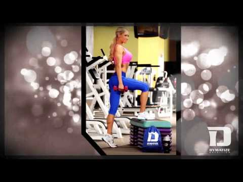 Jenna Renee   Behind the scenes photoshoot with Dymatize Nutrition