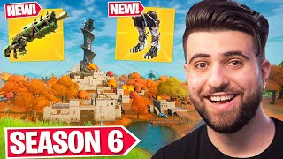 Everything Epic Didn't Tell You In Fortnite Season 6! (NEW Crafting, New Items, Map Updates + MORE!)