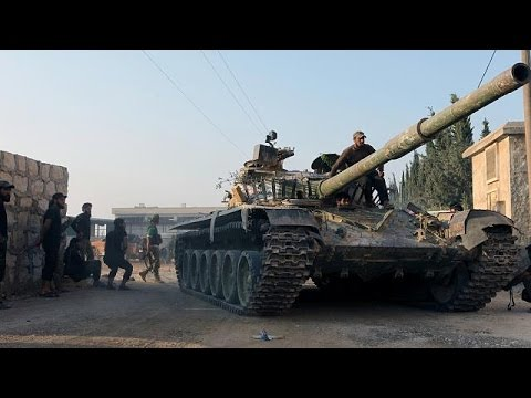 Syria: Rebels claim end of siege in Aleppo