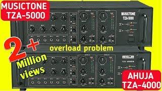 MUSICTONE TZA-5000 | AHUJA TZA-4000 I Overload problem