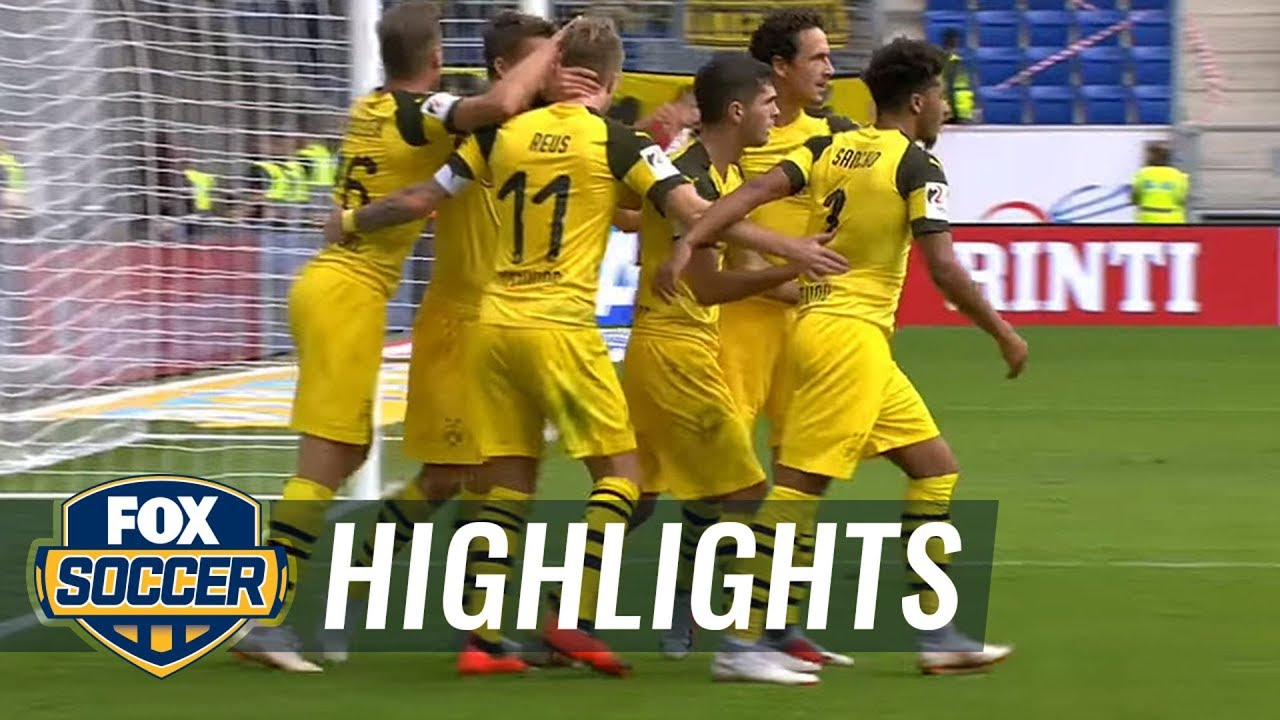 Pulisic puts Borussia Dortmund level vs. Hoffenheim | 2018-19 Bundesliga Highlights
