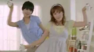 SNSD Banana Milk CF [FULL]