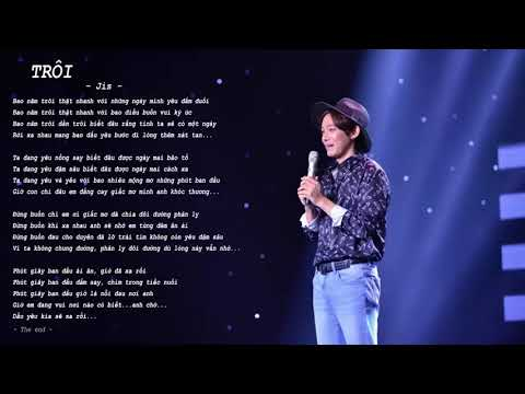 Karaoke | Trôi - Jis Song Jooyoung (Sing My Song)