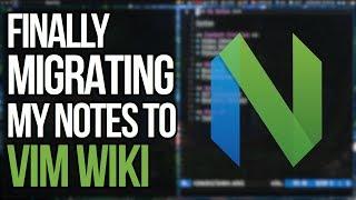 I Should Have Jขst Used Vimwiki From The Start