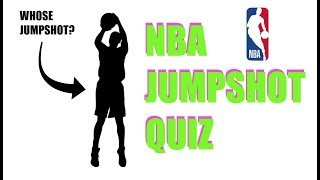 GUESS THE NBA PLAYER BY 2K JUMPSHOT