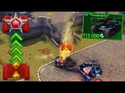 Tanki Online - Road To Legend #9 - ThunderStrike Kit?! Buying Wasp Mk4!