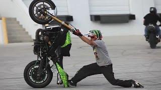 Melhores Manobras de Moto do Mundo incrível - EMPINANDO MOTO, Acrobacias, Show de Moto, Encontro