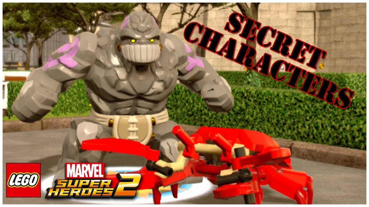 LEGO Marvel Superheroes 2 - ALL SECRET CHARACTERS - NPC (Part 4)