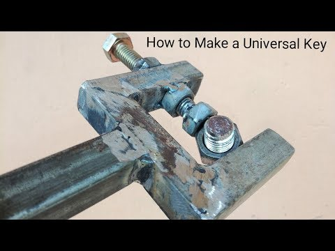 Wow!Awesome ideas|How to Make a Universal Key