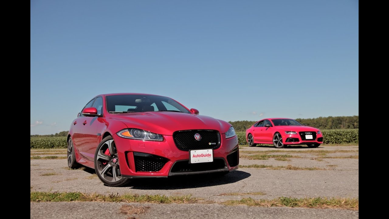 2015 Jaguar XFRS vs 2015 Audi RS7  YouTube