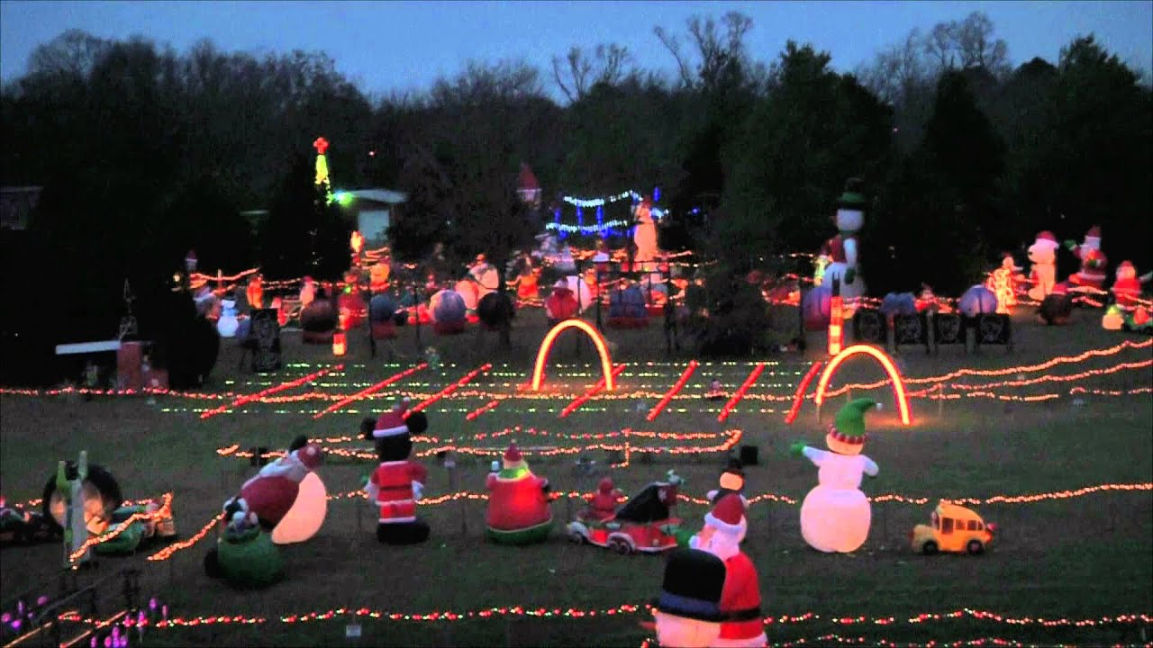 Recommended Memphis Christmas Light Displays - East Memphis Moms