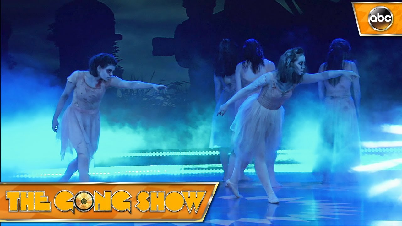 Image result for 2017 gong show best acts zombie ballet
