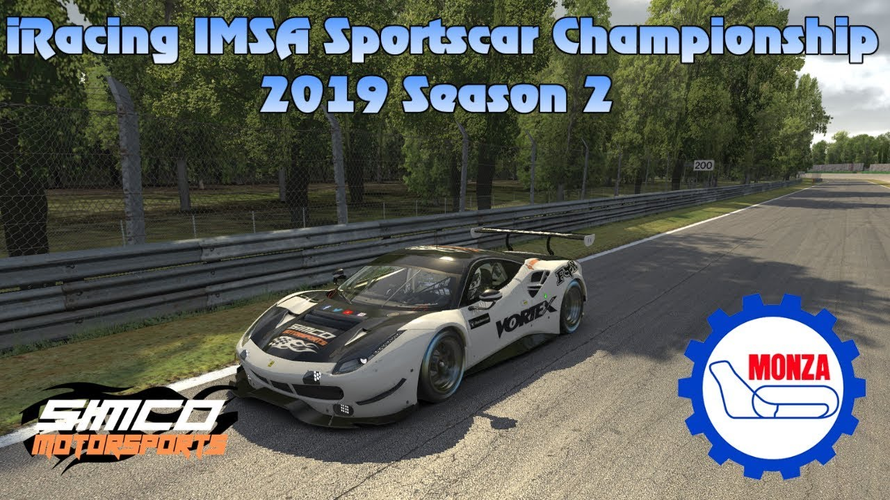 Imsa Live Stream >> Iracing Imsa Sportscar Championship Livestream 2019 Season 2