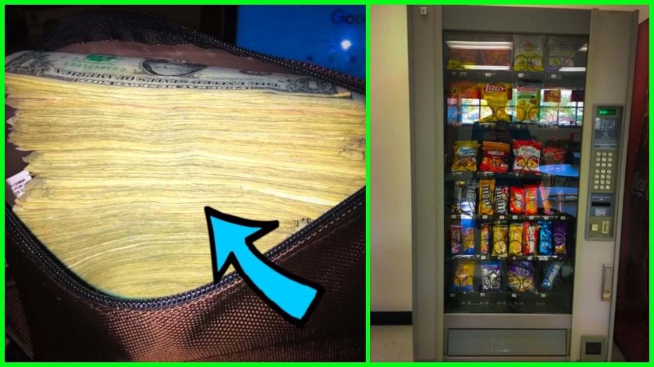 How much Money did I collect from my 7 Vending Machines ...