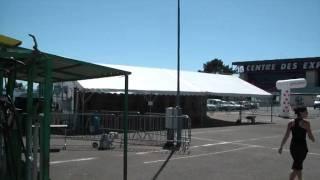 National Prim'holstein Le Mans 2011 (arrivée des animaux)